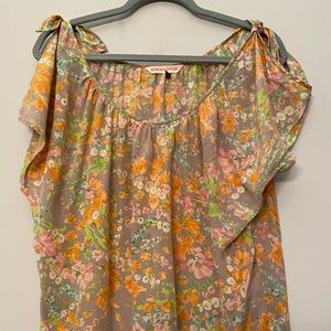 Rebecca Taylor Floral Sleeveless Blouse (4)